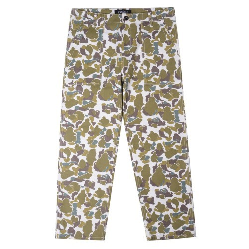 피나클 PINNACLE - Camo Fatigue Pants (WHITE)