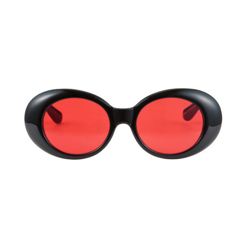 하이비션 - Rosewell Original Glossy Black / Red Tint Lens