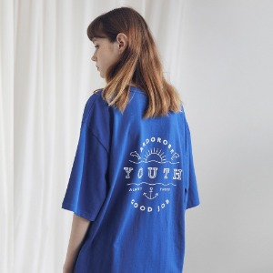 아더로브 ARDOROBE - UNISEX YOUTH CIRCLE TEE ATS191001-BL