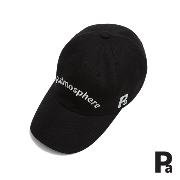 피엣모스피어 patmosphere - Logo basic ball cap (BLACK)