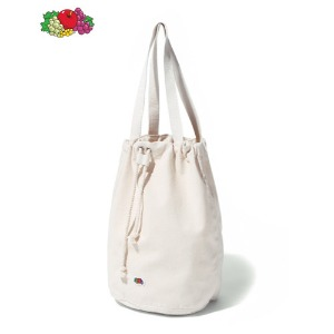 FRUIT OF THE LOOM - CANVAS BUCKETWBAG IVORY