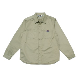 벤데이비스 BENDAVIS - TC TWILL WORK SHIRT (9780028) BEGIE