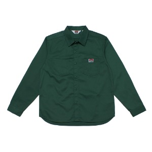 벤데이비스 BENDAVIS - TC TWILL WORK SHIRT (9780028) D.GREEN