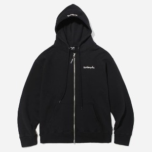 마크 곤잘레스 MARK GONZALES - HOODIE ZIP UP BLACK