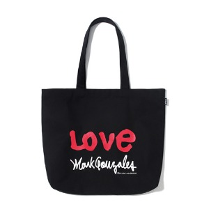 마크 곤잘레스 MARK GONZALES - M/G LOVE ECO BAG BLACK