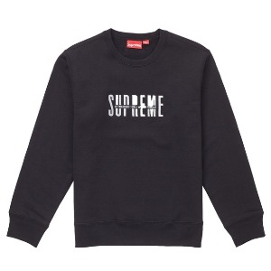 *국내배송* 슈프림 18FW Supreme World Famous Crewneck