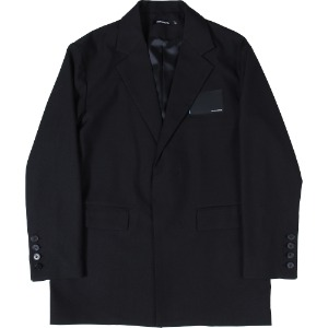 낫포너드 NOT4NERD - Card Wallet Oversized Blazer [Black]