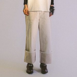 PHOS333 포스333 - Island Denim Pants/Natural