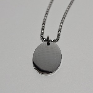 그린컨테이너 - SIMPLE ELLIPSE NECKLACE