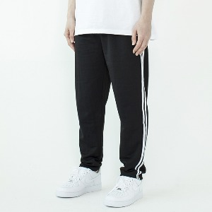 엑스씨엑스메인 XCXMAIN - BLACK PANTS PIPING (CHAMPION COTTON'S)
