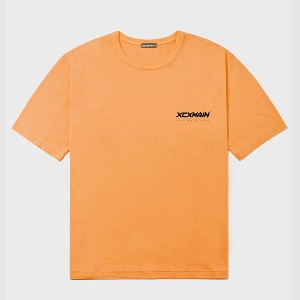 엑스씨엑스메인 XCXMAIN - ORANGE SIGNATURE MINI LOGO PREMIUM 18수 반팔