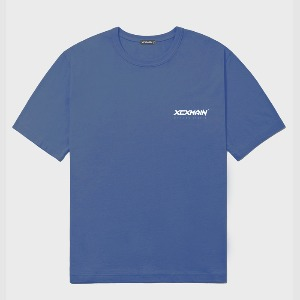 엑스씨엑스메인 XCXMAIN - DEEP BLUE SIGNATURE MINI LOGO PREMIUM 18수 반팔