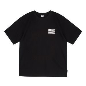 90FIT - 2020 S/S Stars and Stripes Tee Black