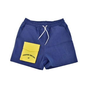 프리키쉬 빌딩 FREAKISH BUILDING - FRONT POCKET SHORTS PANTS (NAVY)