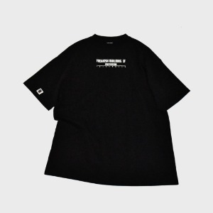 프리키쉬 빌딩 FREAKISH BUILDING - CHECKLIST SHORT SLEEVE TEE (BLACK)
