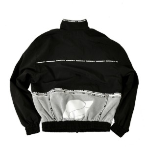 프리키쉬 빌딩 FREAKISH BUILDING -  FLYING TRACK JACKET (BLACK)