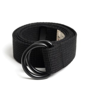 와일드브릭스 WILD BRICKS - BK D-RING BELT (black)