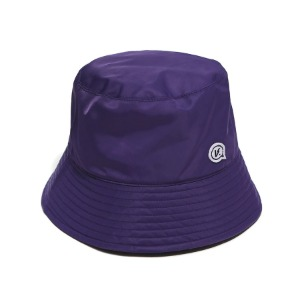 벌스원 VERSEONE - BUBBLE LOGO BUCKET HAT DARK PURPLE