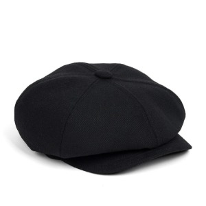 와일드브릭스 WILD BRICKS -LB HEAVY TWILL NEWSBOY CAP (black)