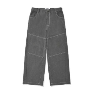 PHOS33 포스333 - Panelled Wide Trousers/Grey