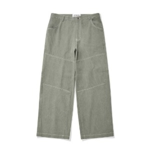 PHOS33 포스333 - Panelled Wide Trousers/Khaki