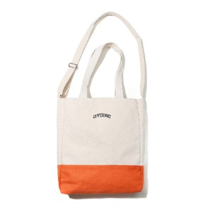 [커버낫] SMALL ARCH LOGO 2WAY BAG ORANGE (오프라인판매)