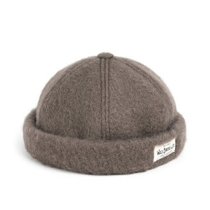 와일드브릭스 WILD BRICKS - MGL WOOL BRIMLESS CAP (grey)