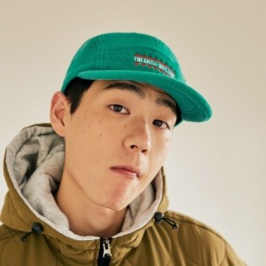 프리키쉬빌딩 - LINFEVER FLEECE CAMP CAP (GREEN)