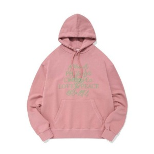 PHOS33 포스333 - Love&Peace Campaign Hoodie/Pink