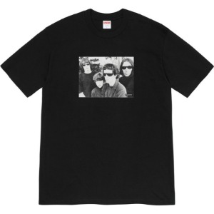 (국내배송) 슈프림 19FW Supreme X The Velvet Underground Tee Black